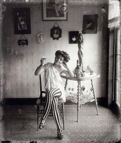 E. J. Bellocq portrait of New Orleans prostitute circa 1912