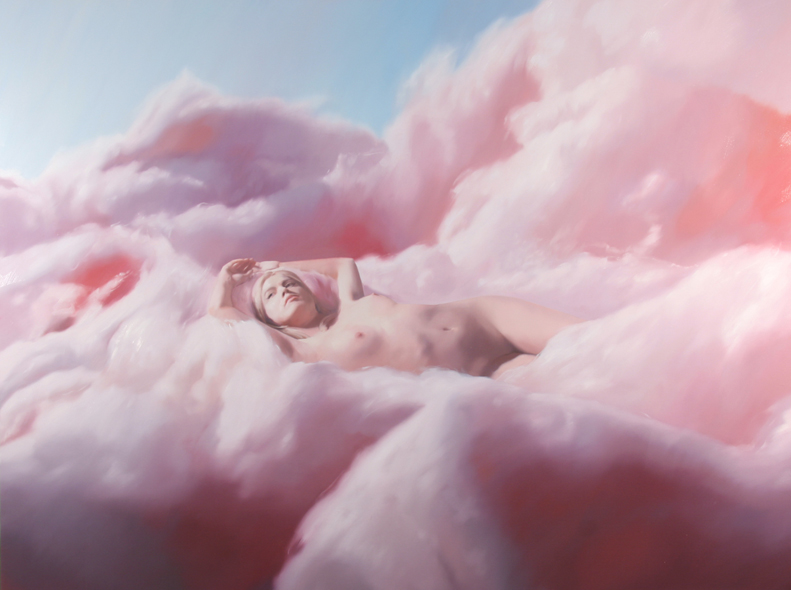 Will Cotton, Cotton Candy Cloud Sandra 2005