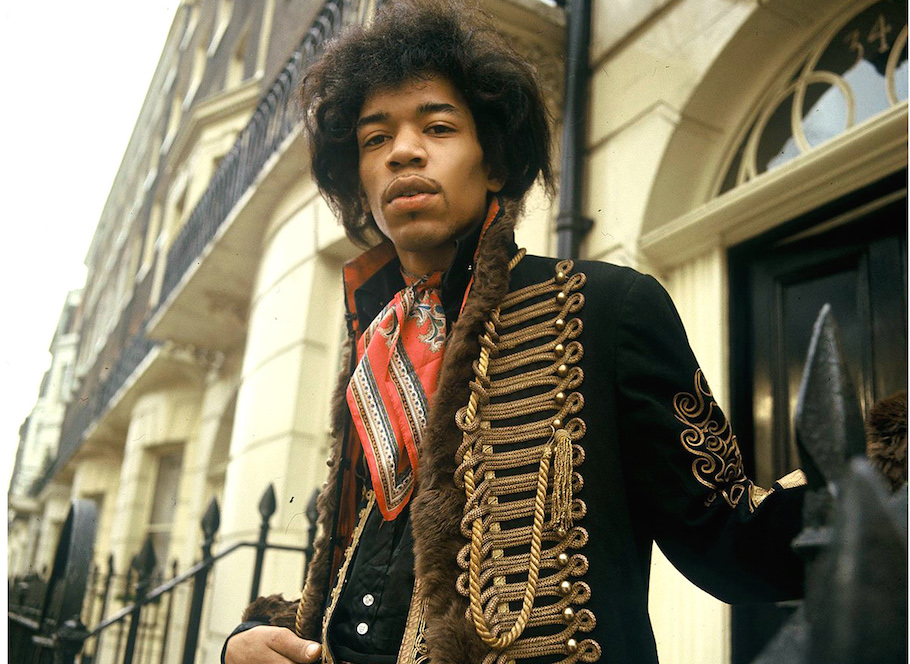 Jimi Hendrix 1967 Mayfair, London