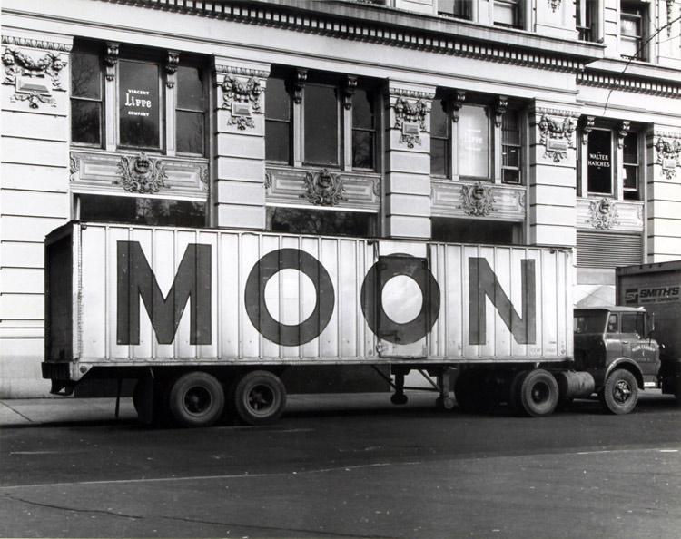 Hollis Frampton, 'Moon' circa 1962