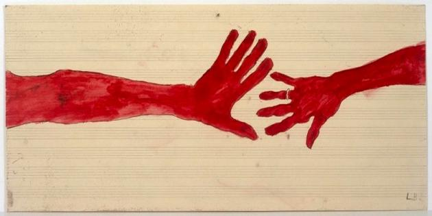 10 am is When You Come to Me  ,   Louise Bourgeois   2006