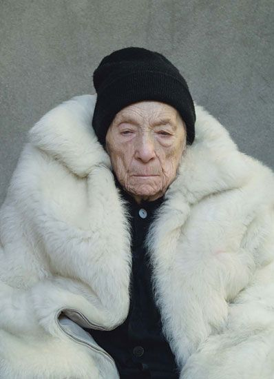 portrait of Louise Bourgeois 2009