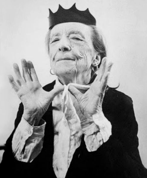 Louise Bourgeois by Bruce Webber 1997