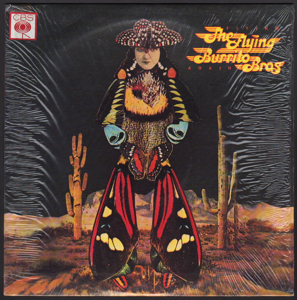 The Flying Burrito Brothers 'Flying Again' 1975
