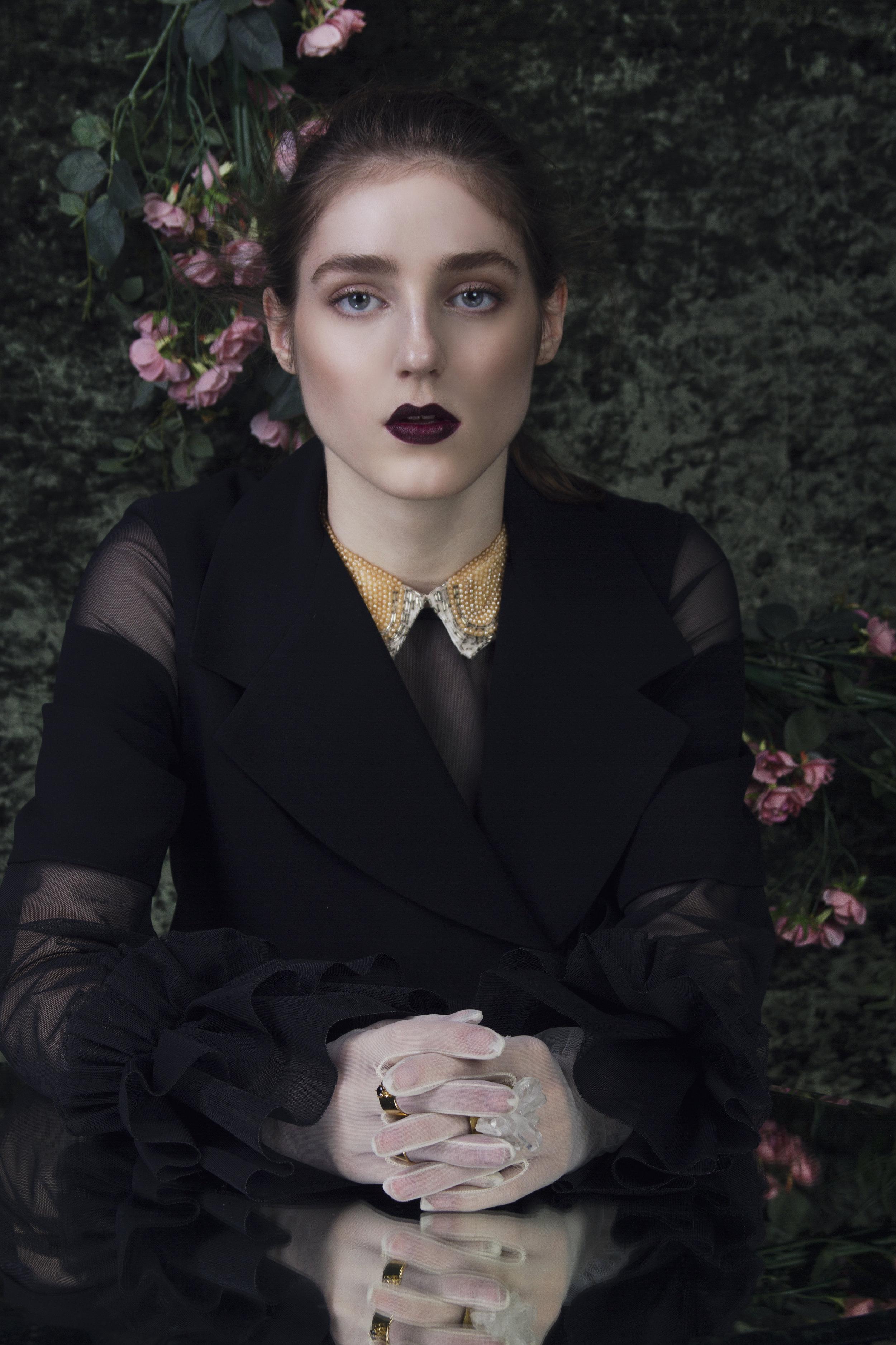 Ladygunn magazine fashion editorial singer Birdy