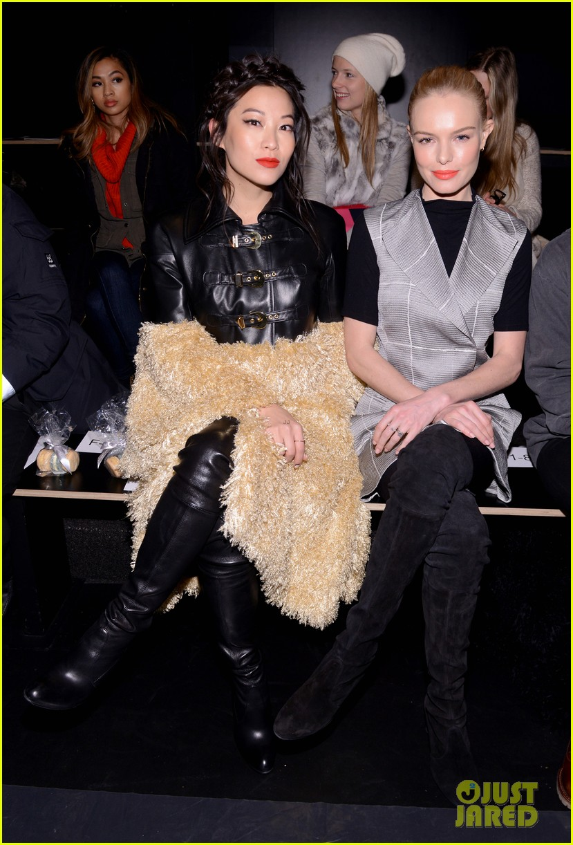 Arden Cho actress mtv wears kelsey randall NYFW Kate Bosworth