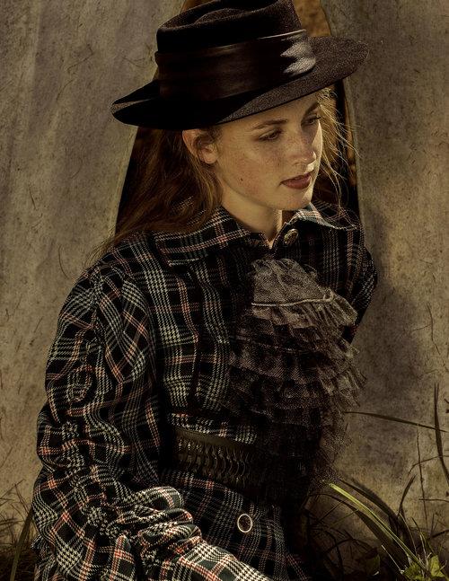 kelsey randall black tulle