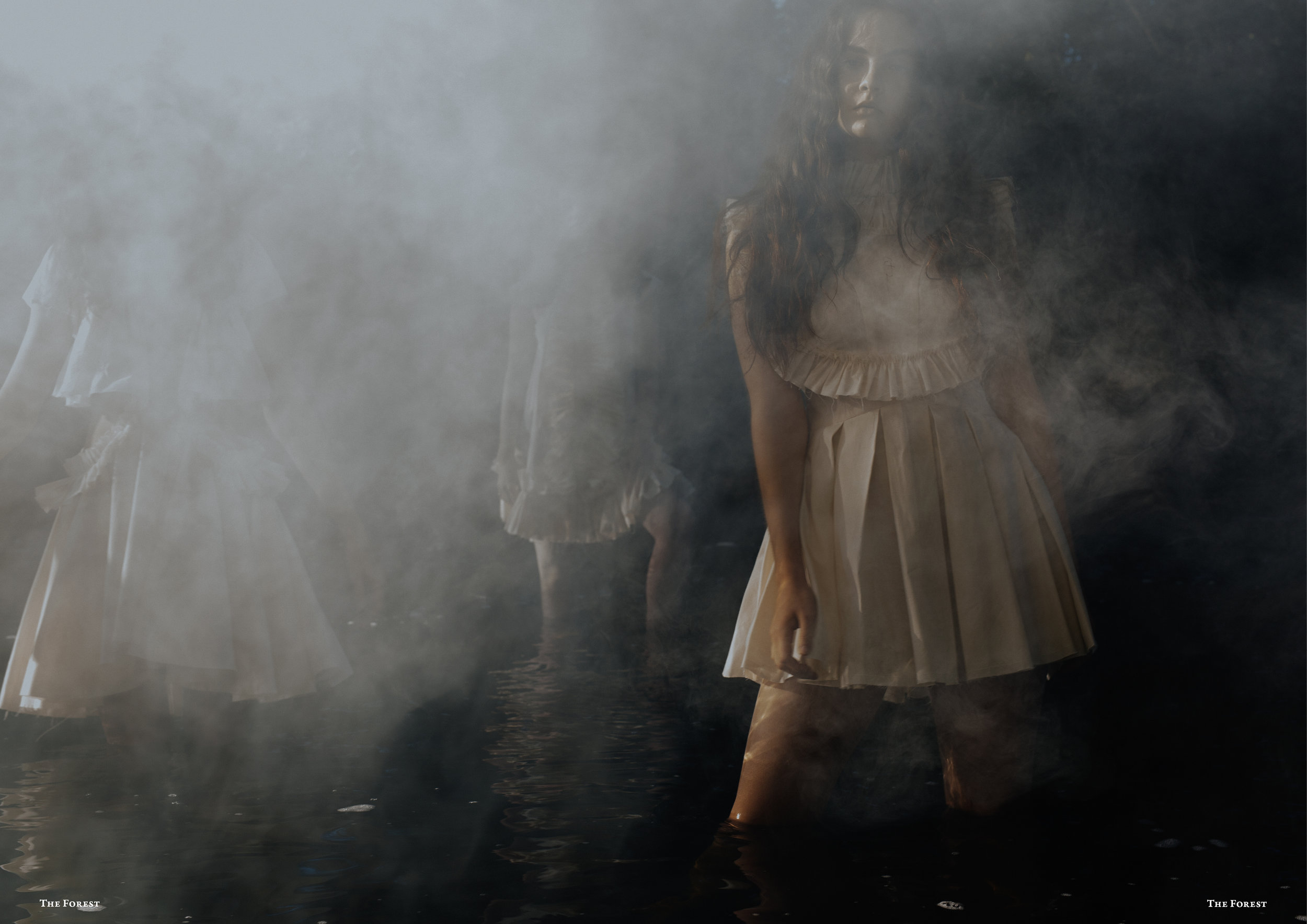 kelsey randall spencer ostrander smoke on the water the forest magazine bespoke muslin collection