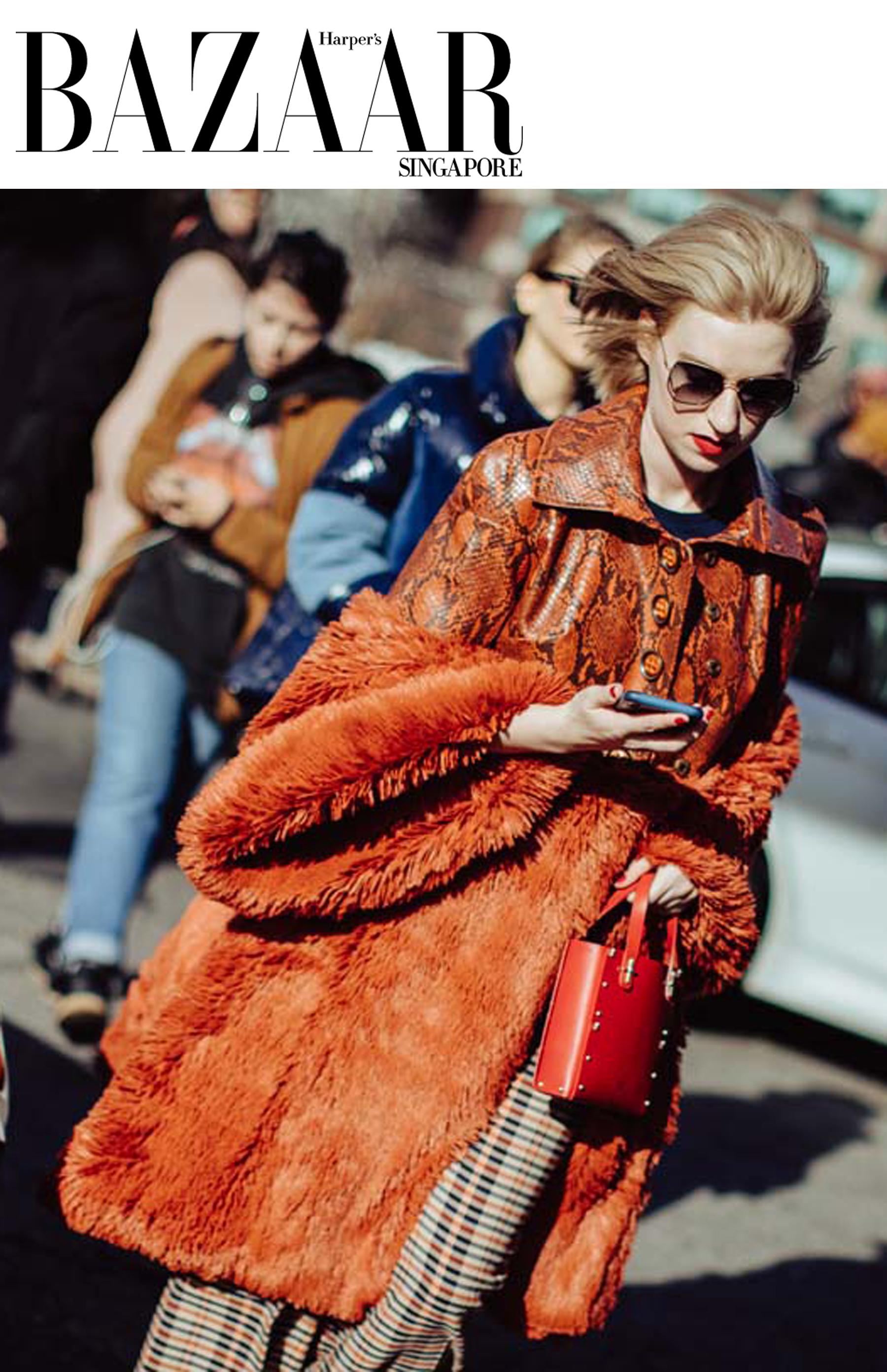 harper's bazaar nyfw new york fashion week