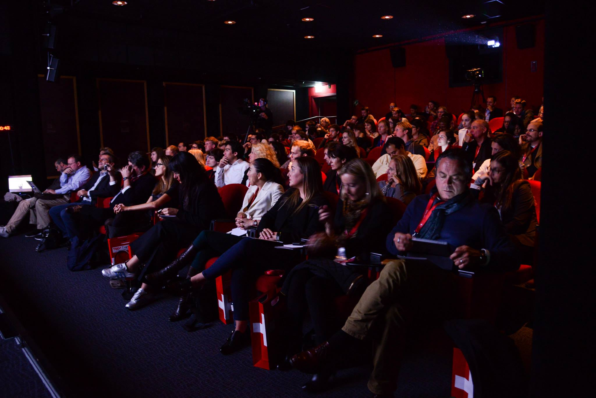 TEDx Transmedia audience. Pic by Lisa Lemee