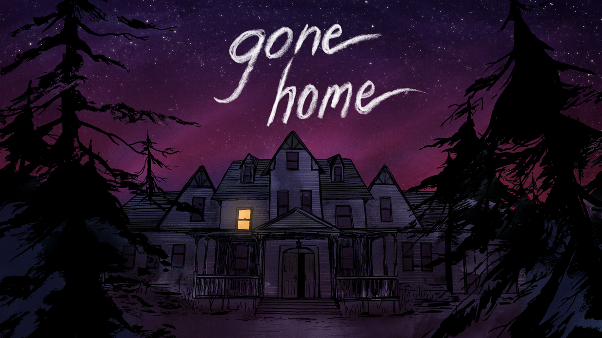 Gone Home  opening screen