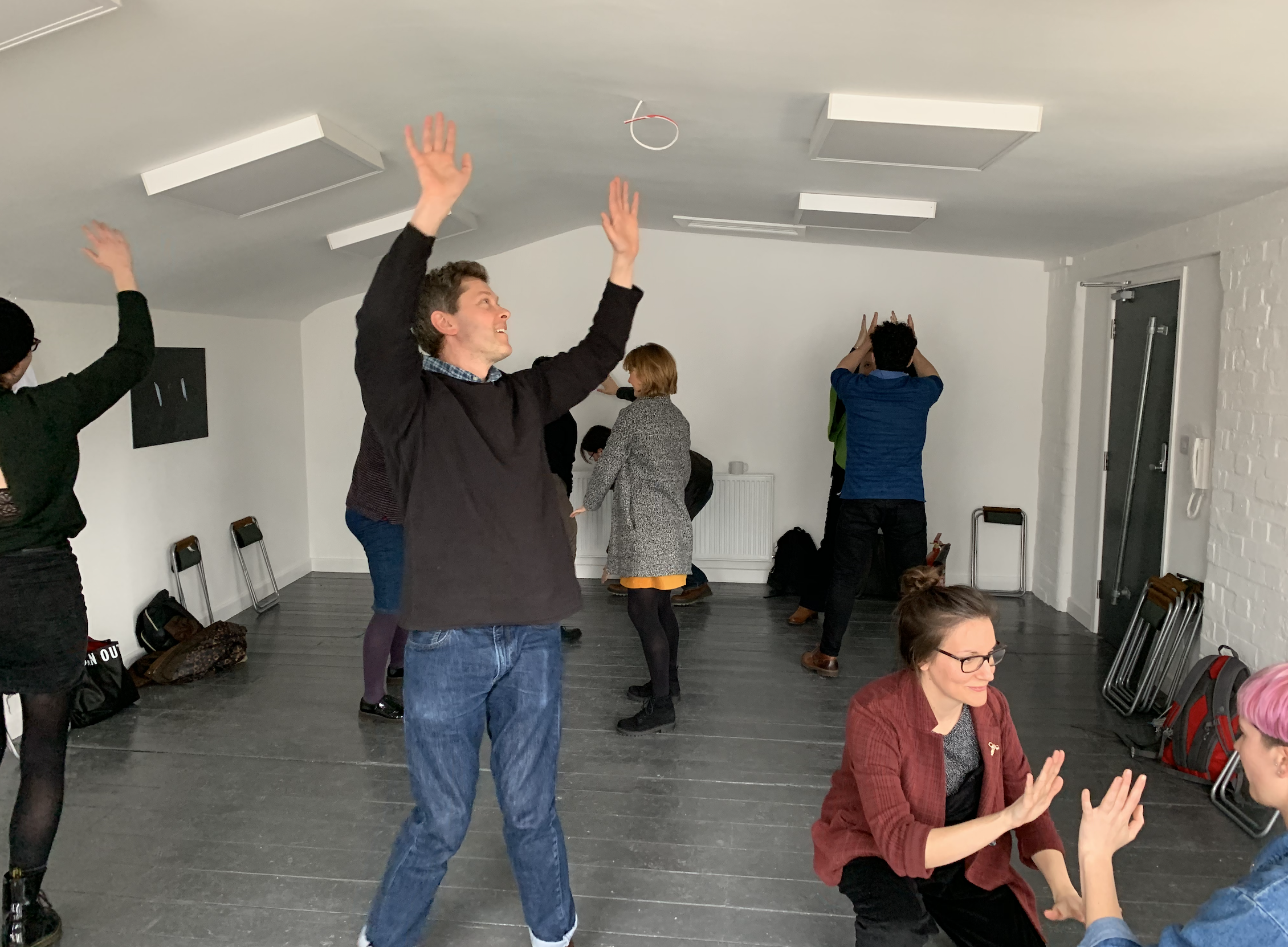 Scratch version of The Future Has Been In Touch shown at Kaleider's Mikrofest, March 2019