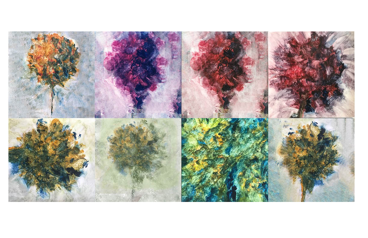 Bouquet gallery water color 2014 2019