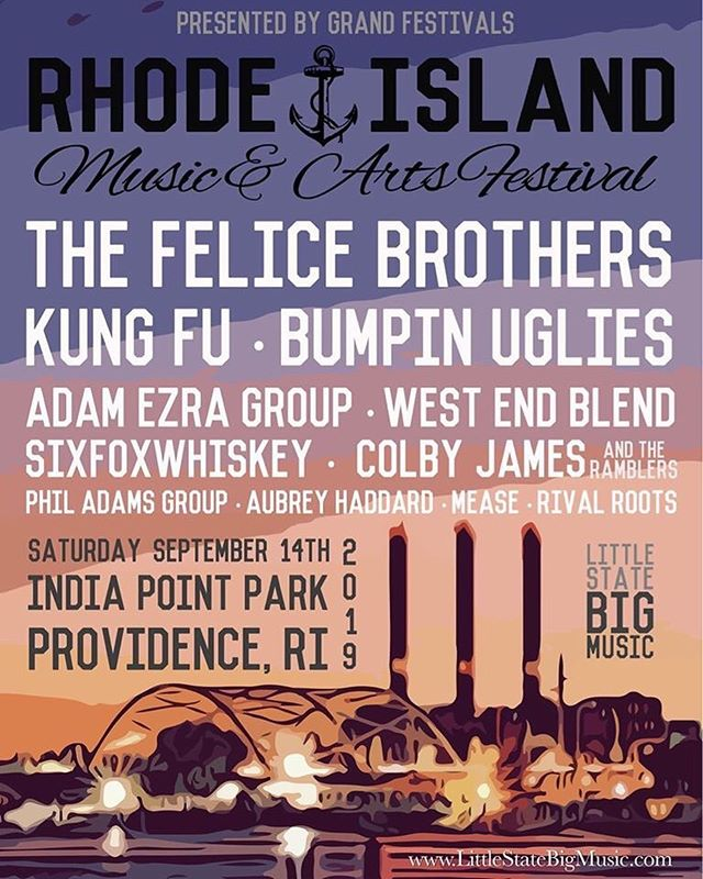 We're joining the @rimusicfestival this September in Providence RI. Can't wait for this awesome lineup. Don't miss this y'all! 🌊🌊🌊🌊