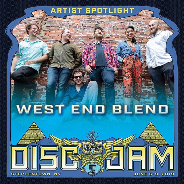 @disc_jam_festival!! Throwing down with our #discjamfam today on the main stage at 3:45pm! Let's goooooo!!