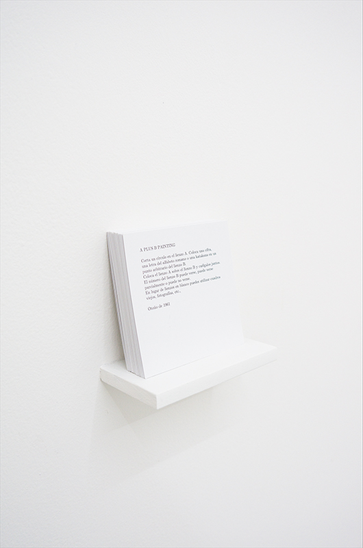 Yoko Ono, Instruction Paintings, 1961-62