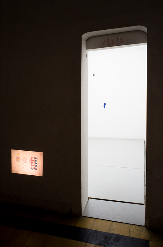 Ana Roldán, Forms of Contemplation, Ideal Forms in Compositions, 2010, Slide projection