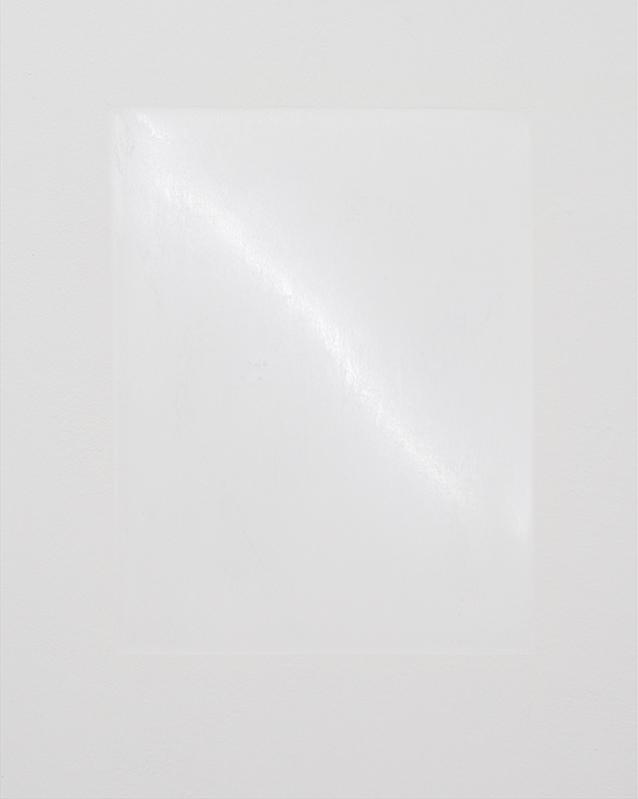 Karin Sander, Wallpiece / Wandstück, 1986-2013, Polished wall, 30 x 40cm