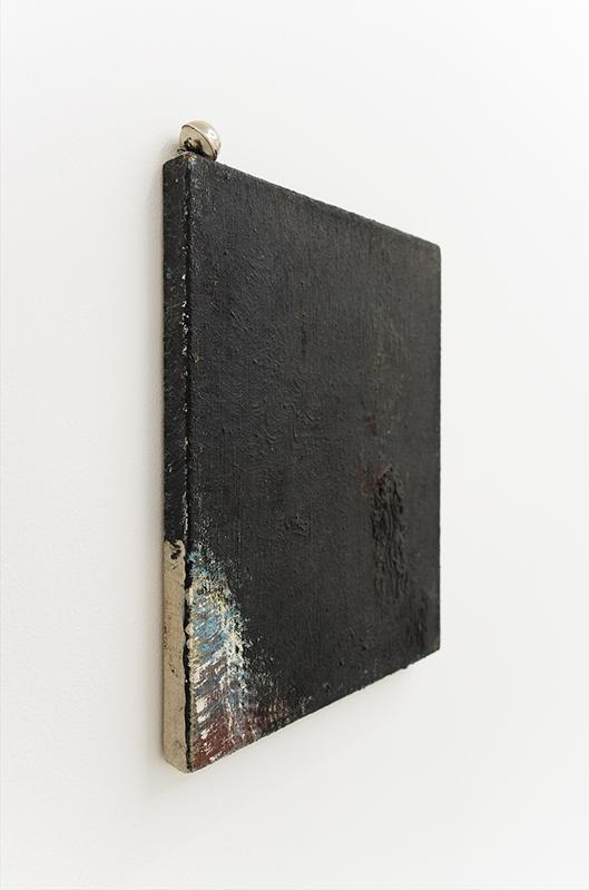 Goran Trbuljak, Jazz Brush, 1991, Oil on canvas, bell, 33 x 27 cm