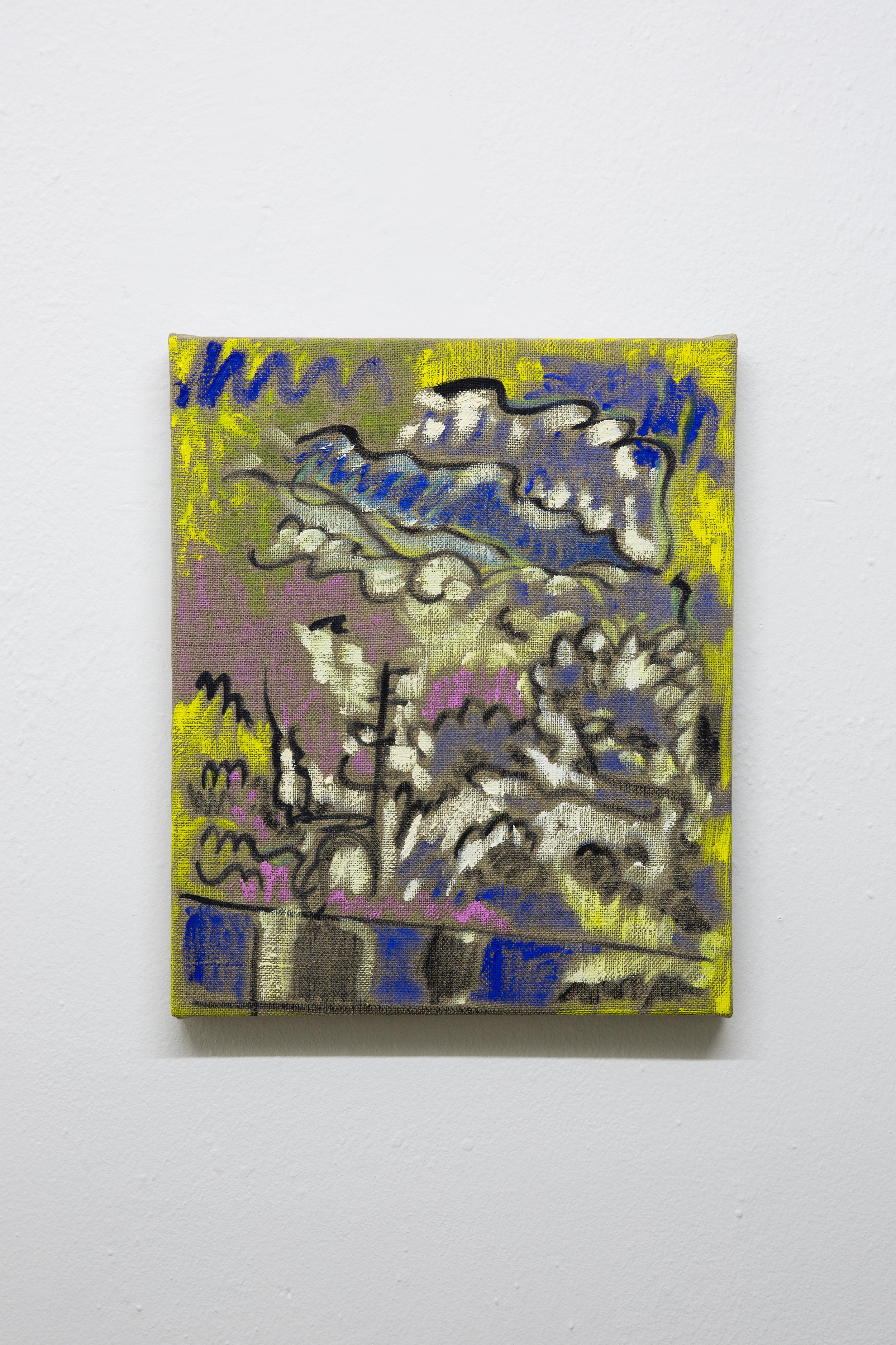 Ryan Nord Kitchen, Greenmound, 2015. Oil on linen 12 x 10 inches (30 x 25cm)