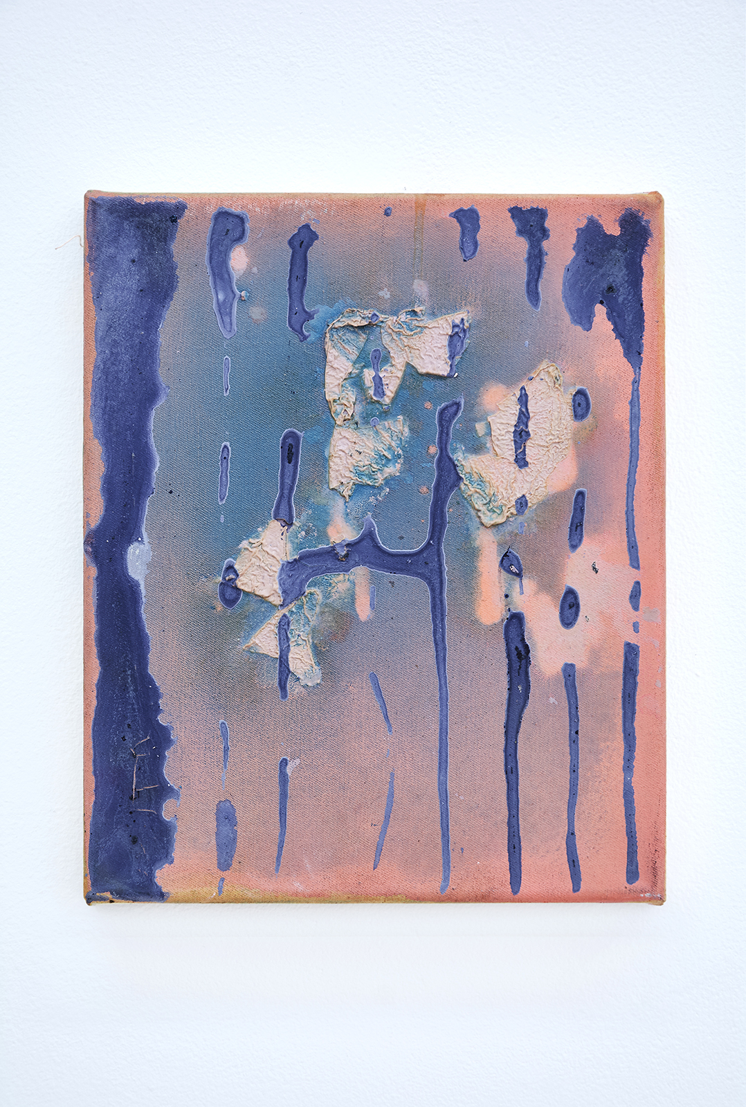 Anna Schachinger, Untitled, 2015. Oil and gesso on canvas, 22 x 27 cm (8.5 x 10.5 in.)
