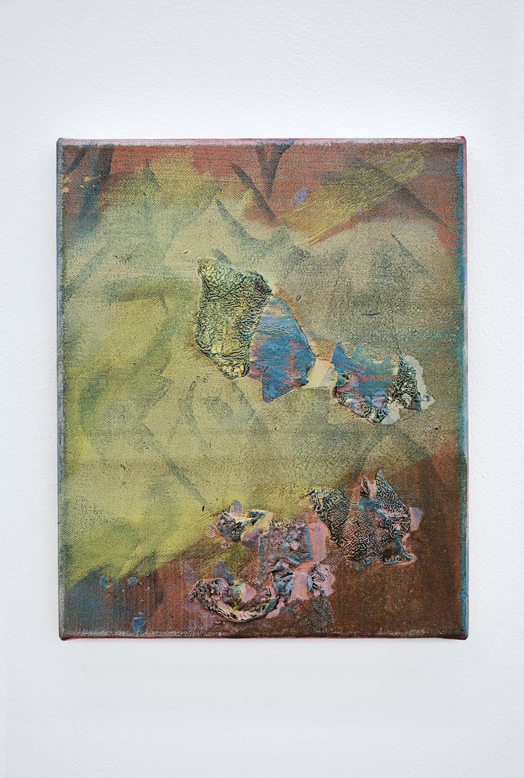 Anna Schachinger, Untitled, 2015. Oil on canvas, 22 x 27 cm (8.5 x 10.5 in.)