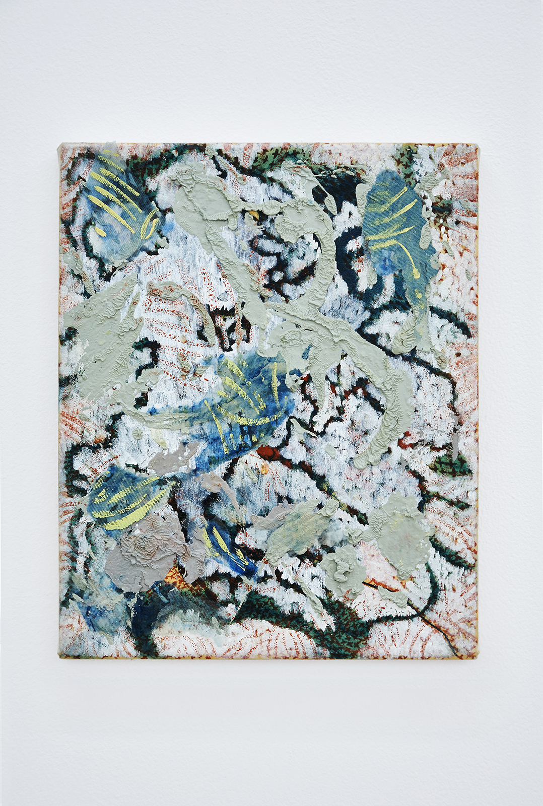 Anna Schachinger, Untitled, 2014-2016. Oil and acrylic medium on canvas, 22 x 27 cm (8.5 x 10.5 in.)