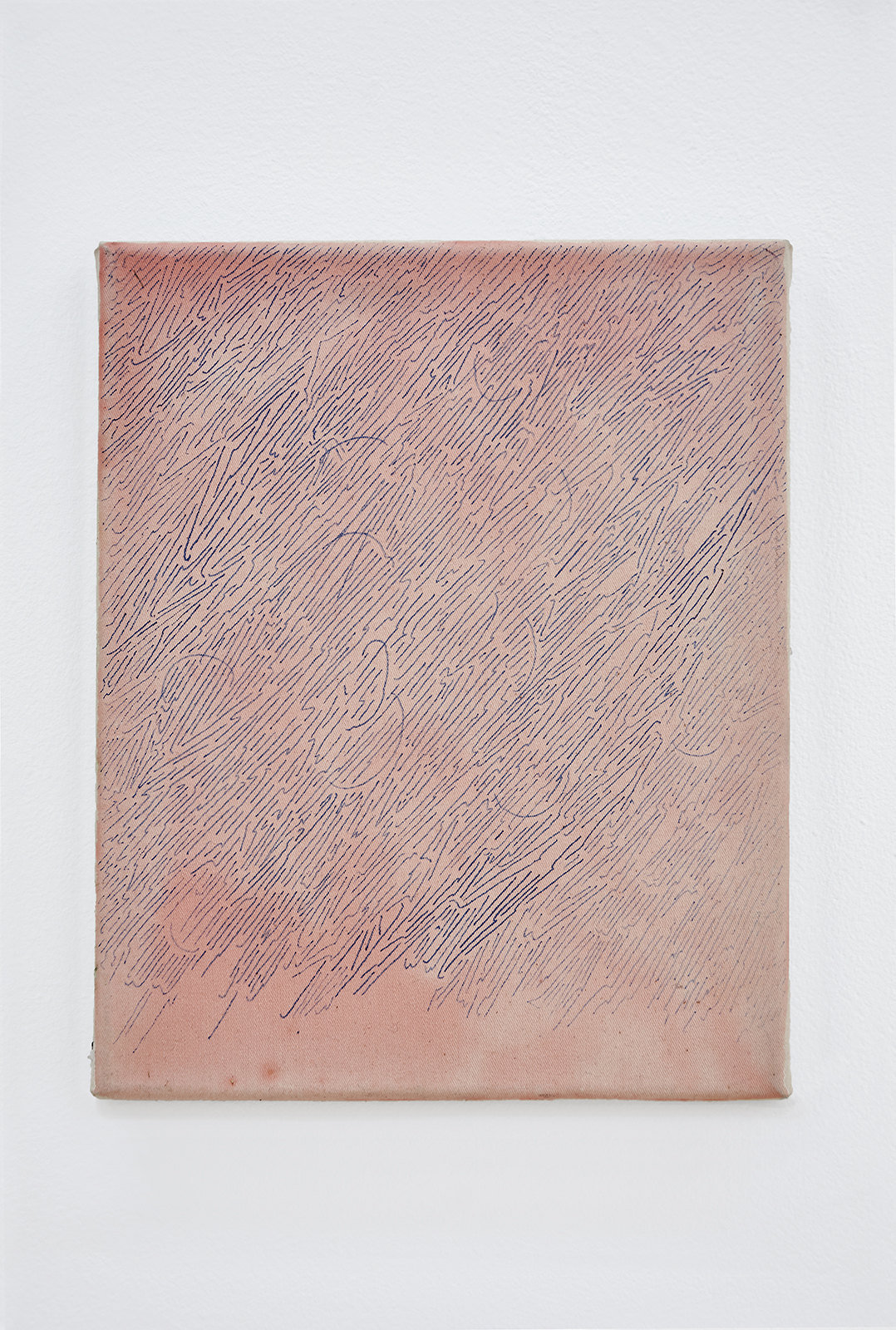 Anna Schachinger, Untitled, 2014. Ink and rabbit skin glue on canvas, 22 x 27 cm (8.5 x 10.5 in.)