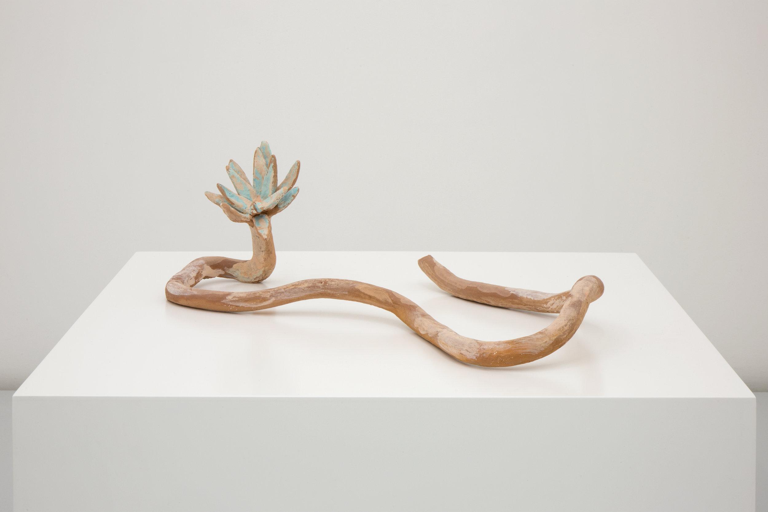 Lorena Ancona, Water Lily, 2018.  Low temperature ceramic