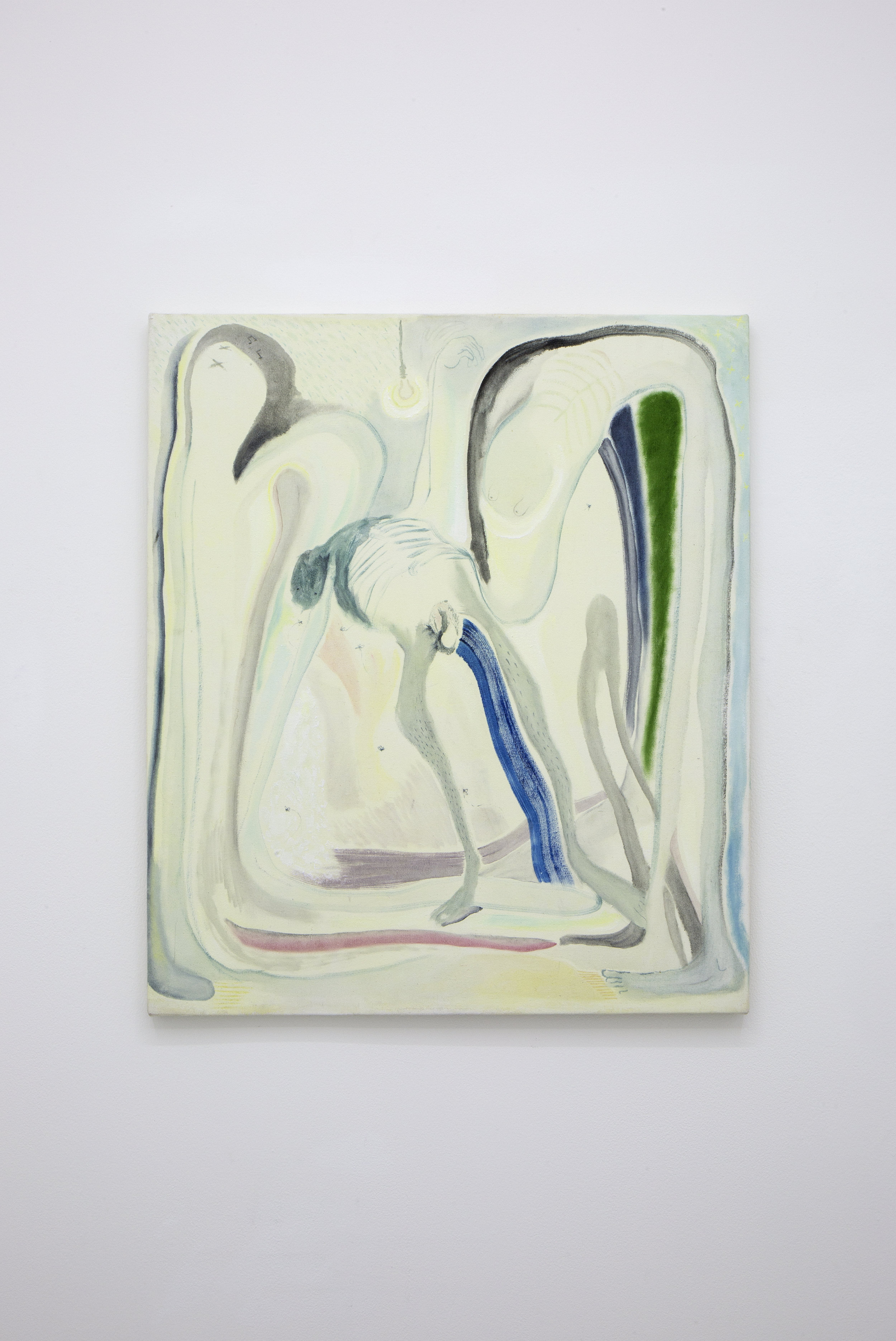 Lucía Vidales, Baaad Idea (Pésima idea), 2018.  Oil on canvas  70X60.5 cm 27.55X 23.81 inch