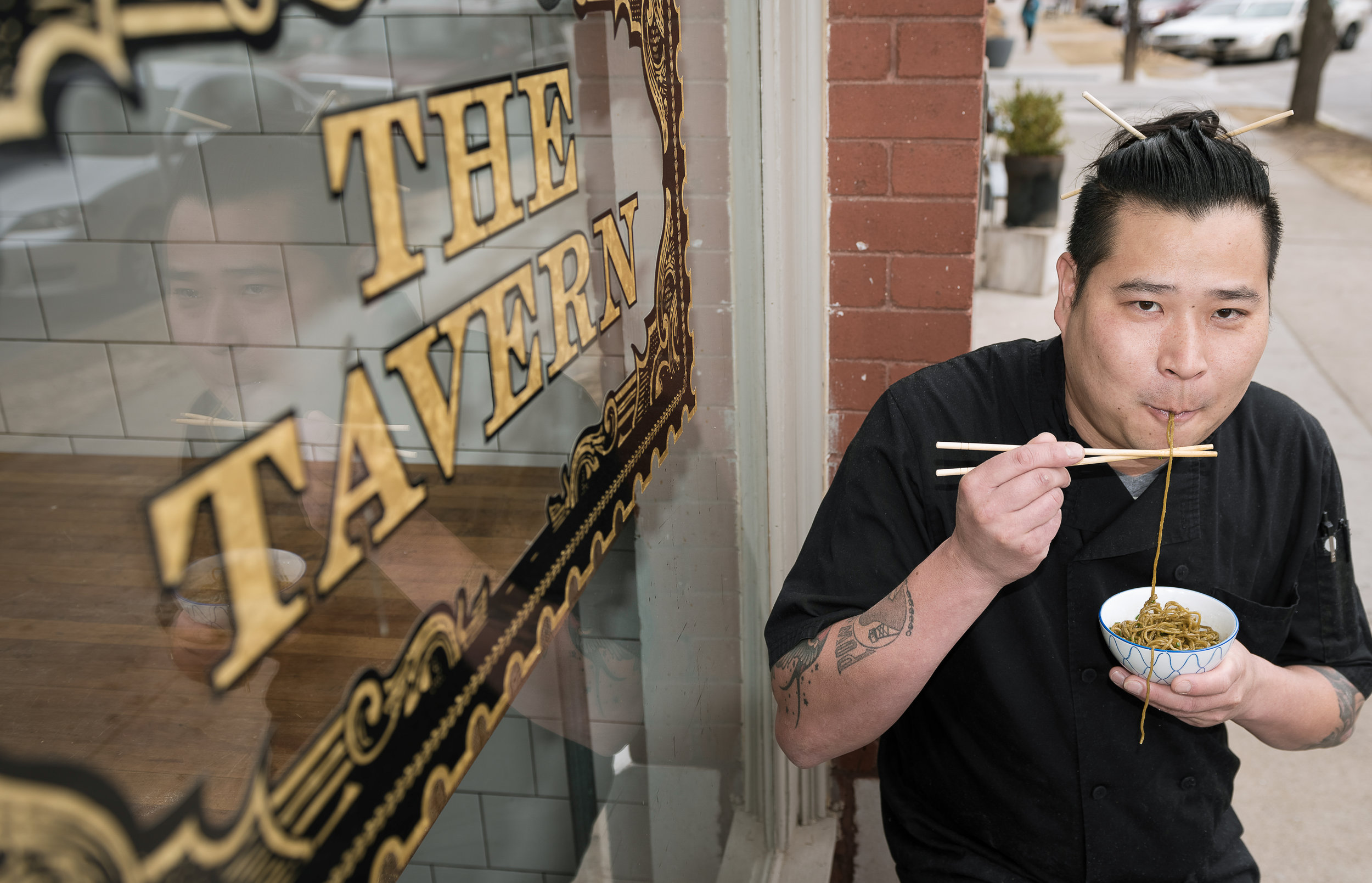 Ben Alexander - Ben has been in the industry for nearly 20 years, and the executive chef for the McNellie's Group. Family man, lover of all things noodle, and a kitchen rapper!
