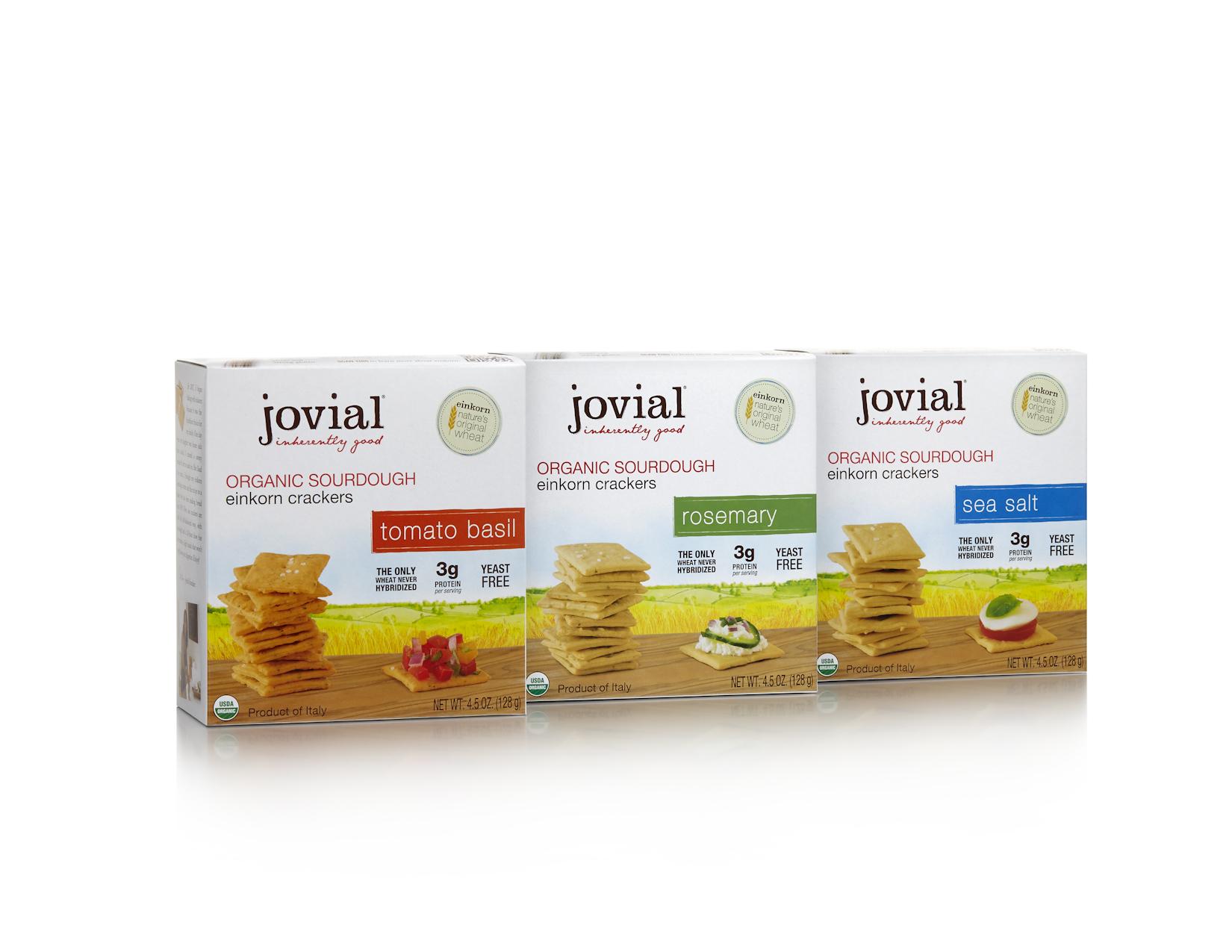 Einkorn cracker packaging