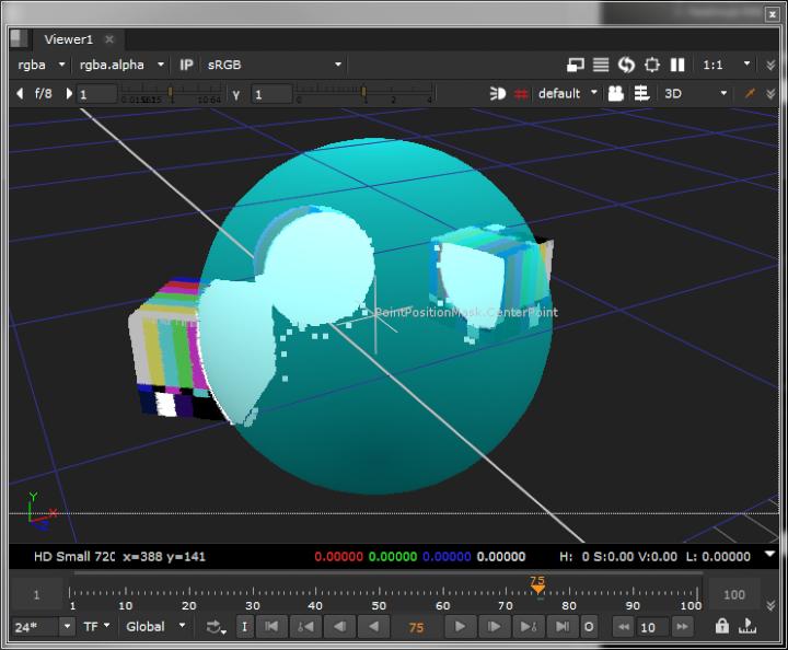 3D Scene View