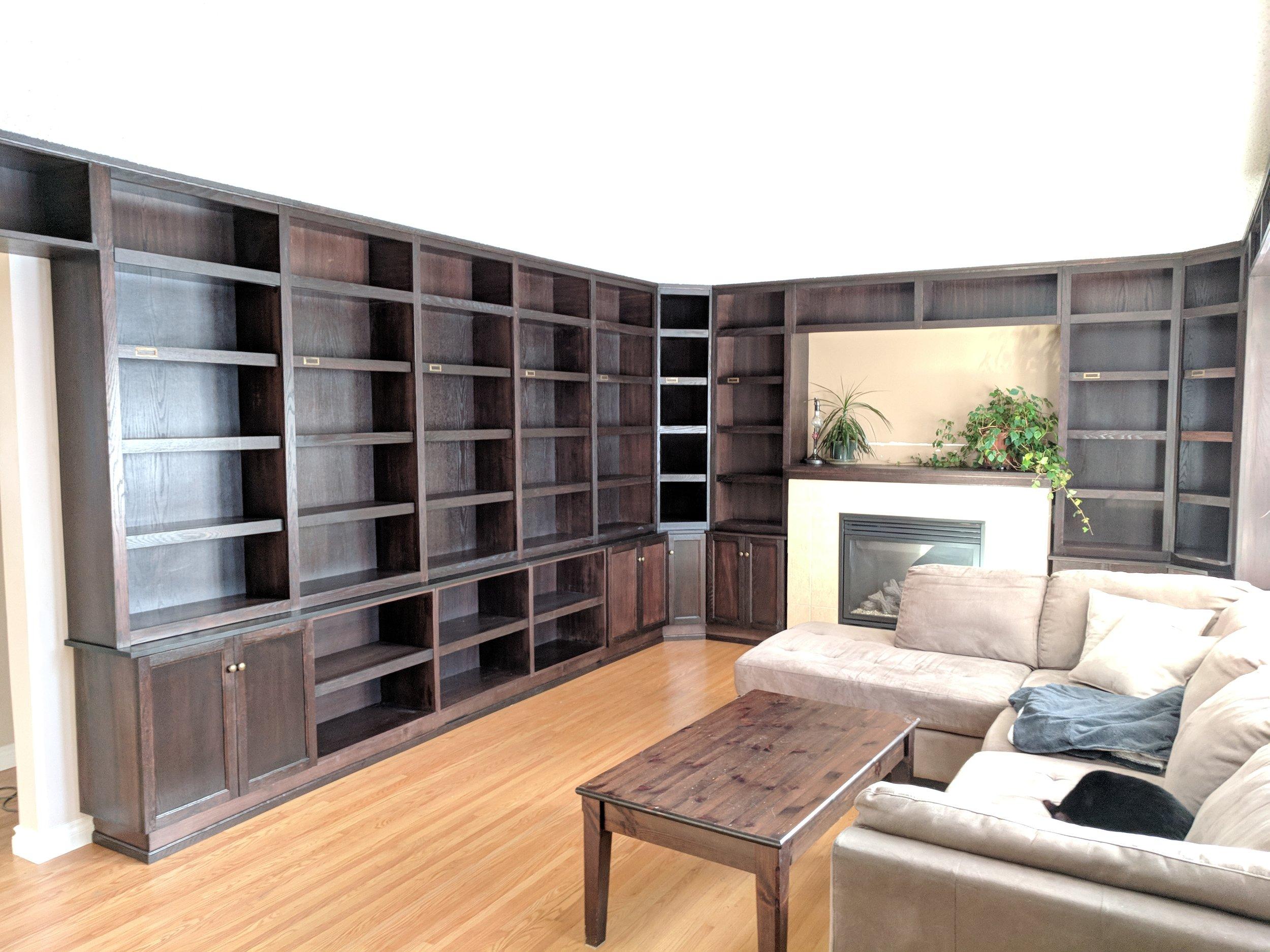 Custom built library