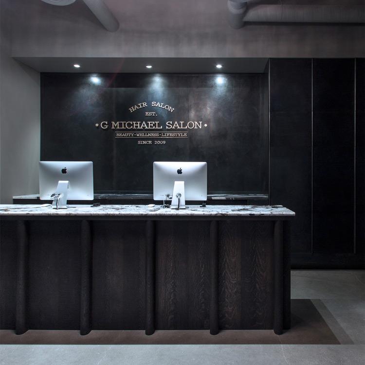 G Michael Salon, Interior Design