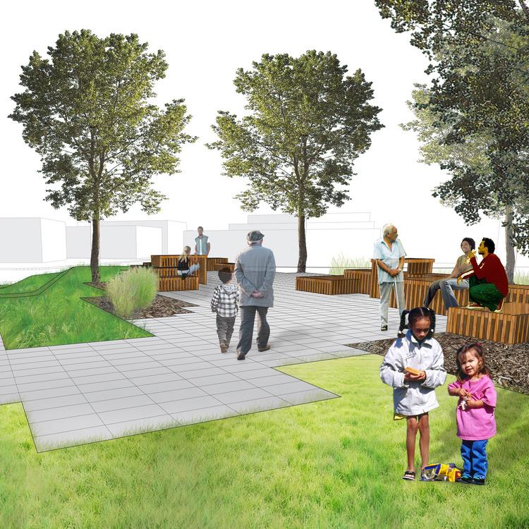 Westminster Greenspace, Landscape Design