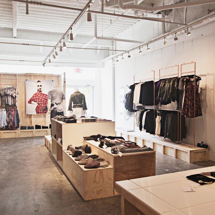 Pattern Retail Store, Interior Design