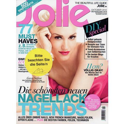Jolie, 2012