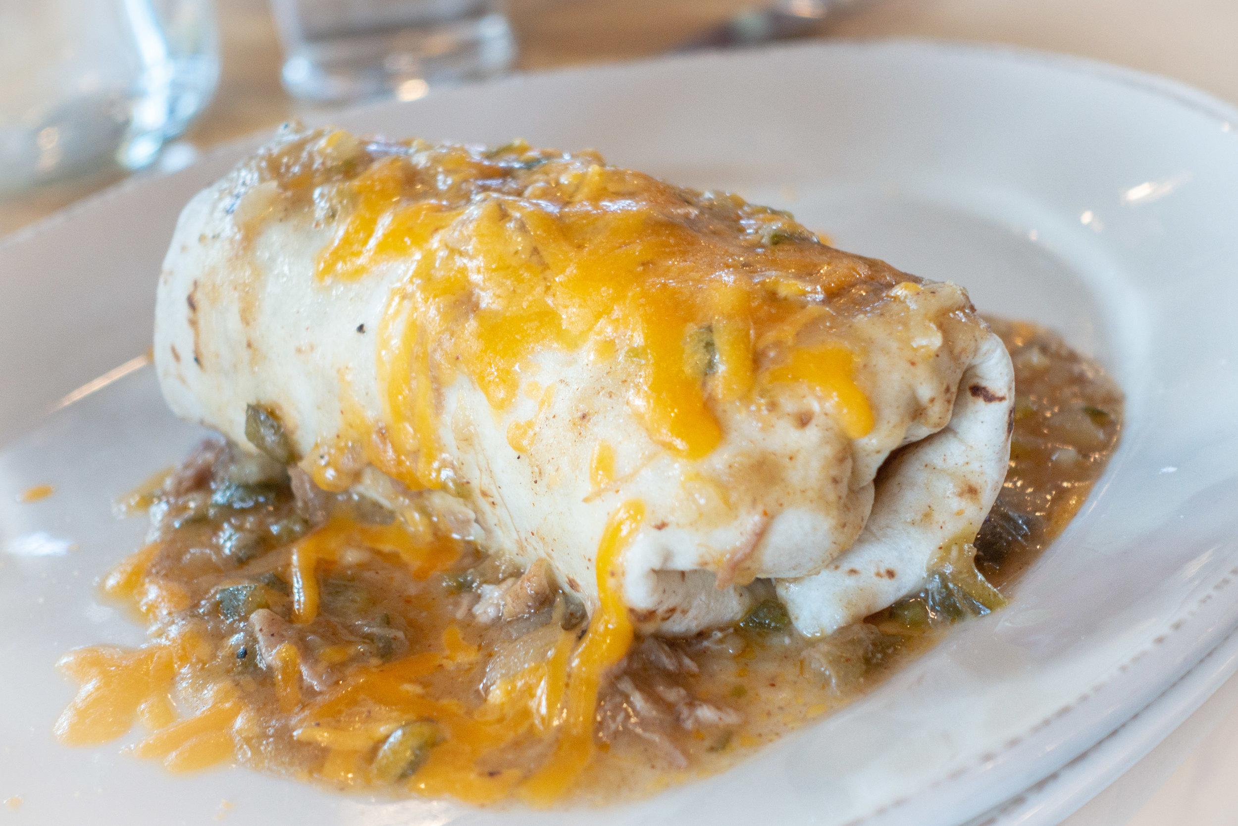 Deer Mountain Breakfast Burrito