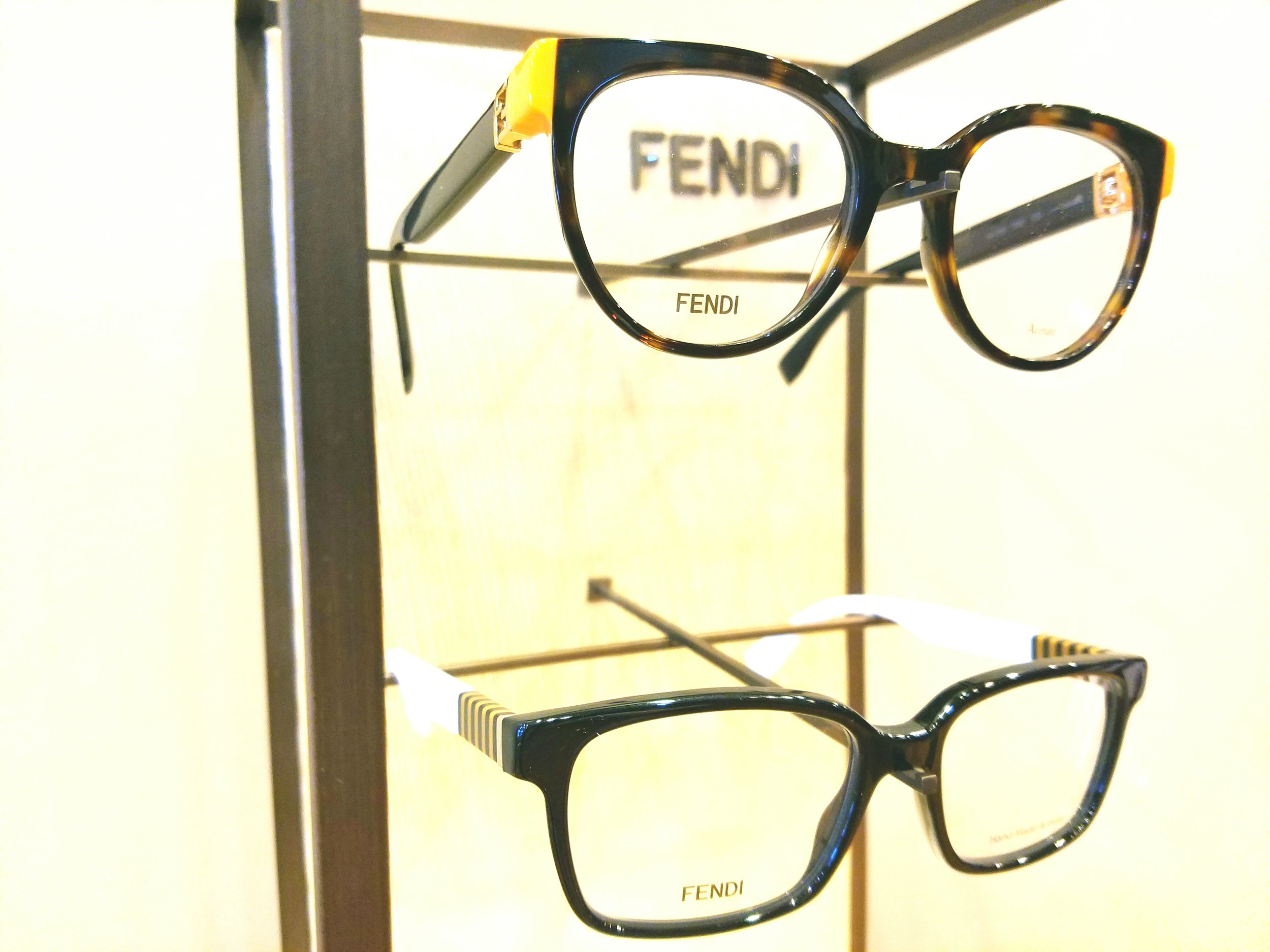 Made in Italy and crafted to showcase Fendi's unique design philosophy.