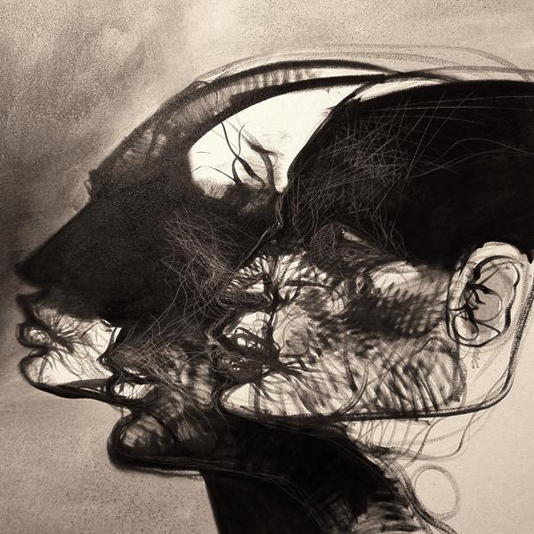 """Tetractis"" óleo sobre tela, 1x1 m, 2007"