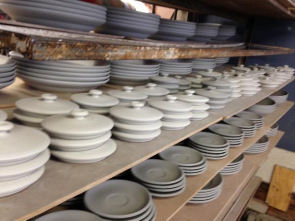 Heath Ceramics studio - Sausalito, California