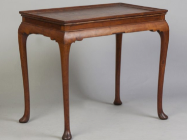 New England Queen Anne Tray Top Tea Table sold by Cottone Auctions for $313,650 on 2/21/2015