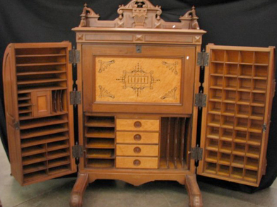 The Wooten desk above sold at Wycliff Auctioneers in January of 2014 for over $10,000 (including premium), a modest price for the promise of Vexation Spared!