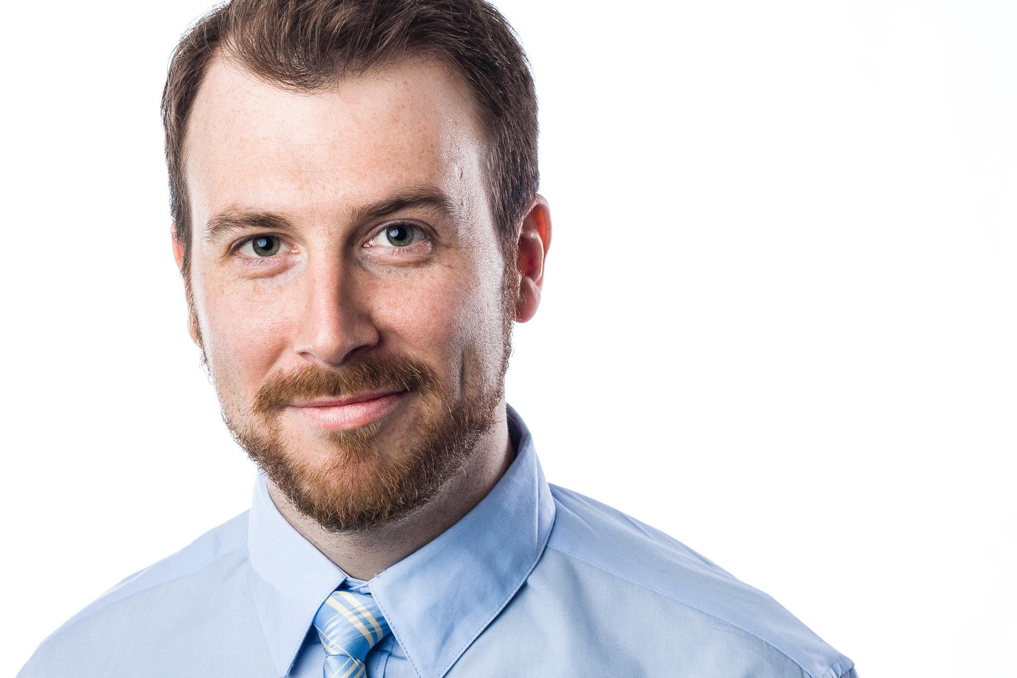 Toronto professional headshot of businessman.