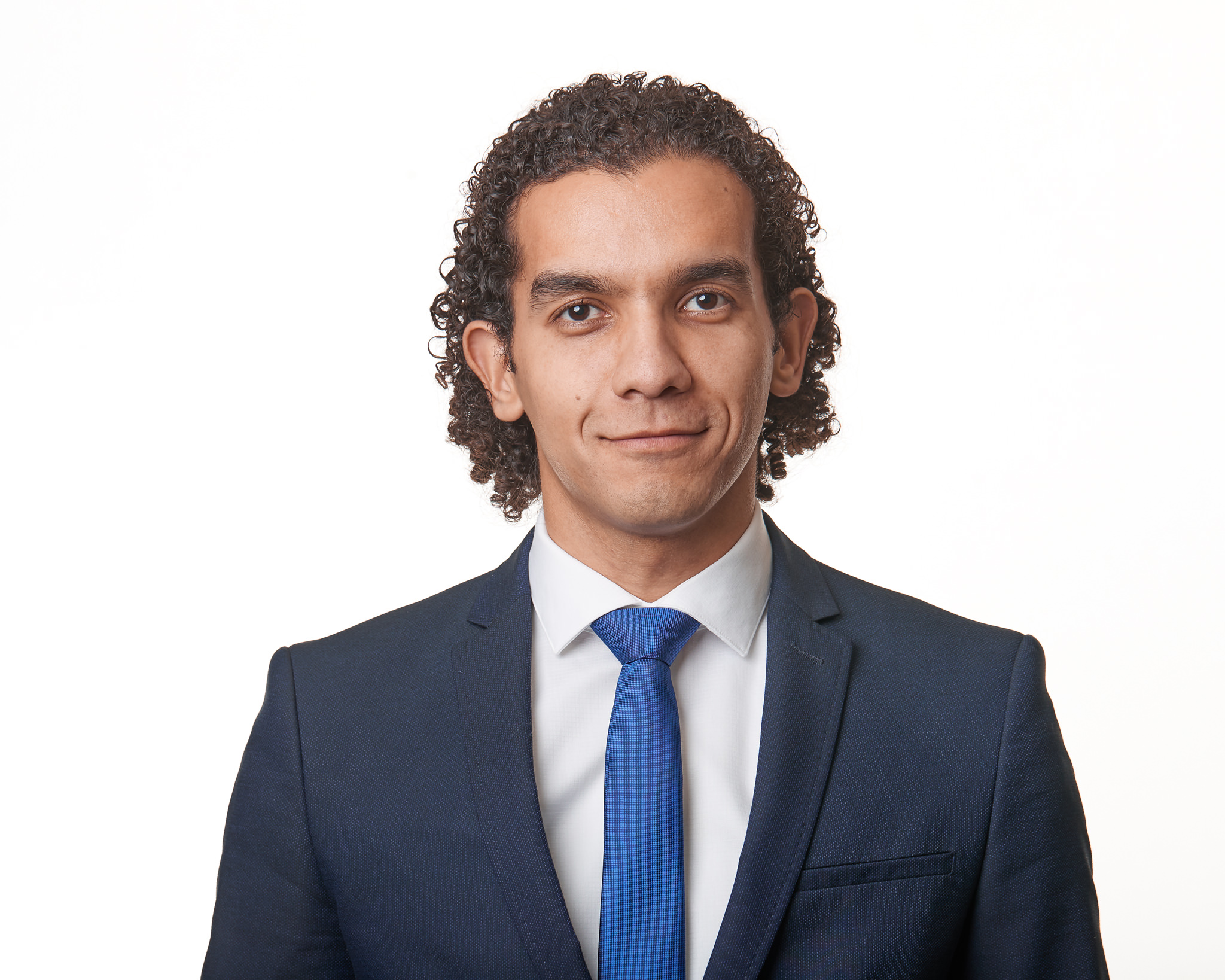 Headshots of male real estate agent.