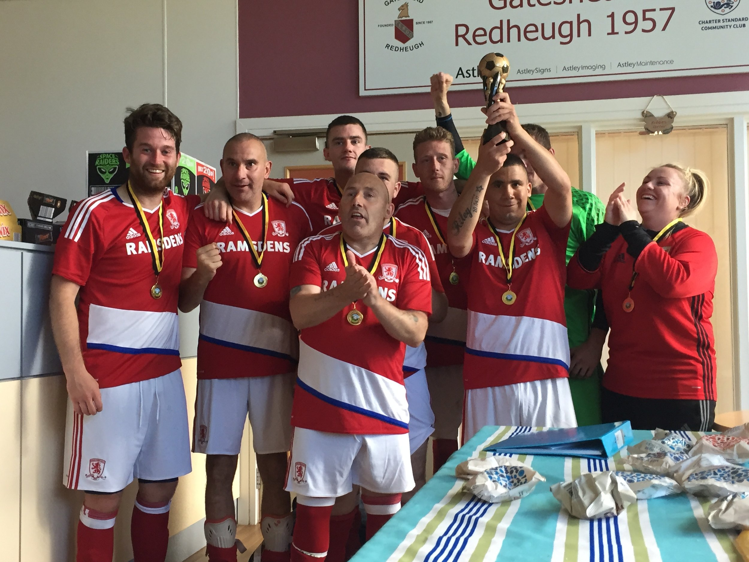 Another tournament, another win by our friends from the MFC Foundation!