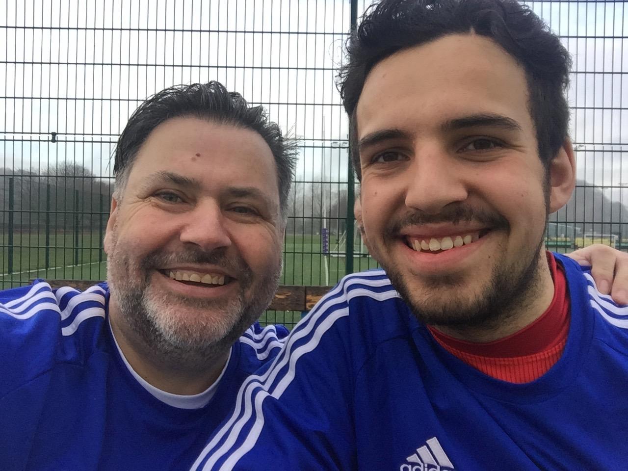 Gary and Cesc Fabregas get acquainted!
