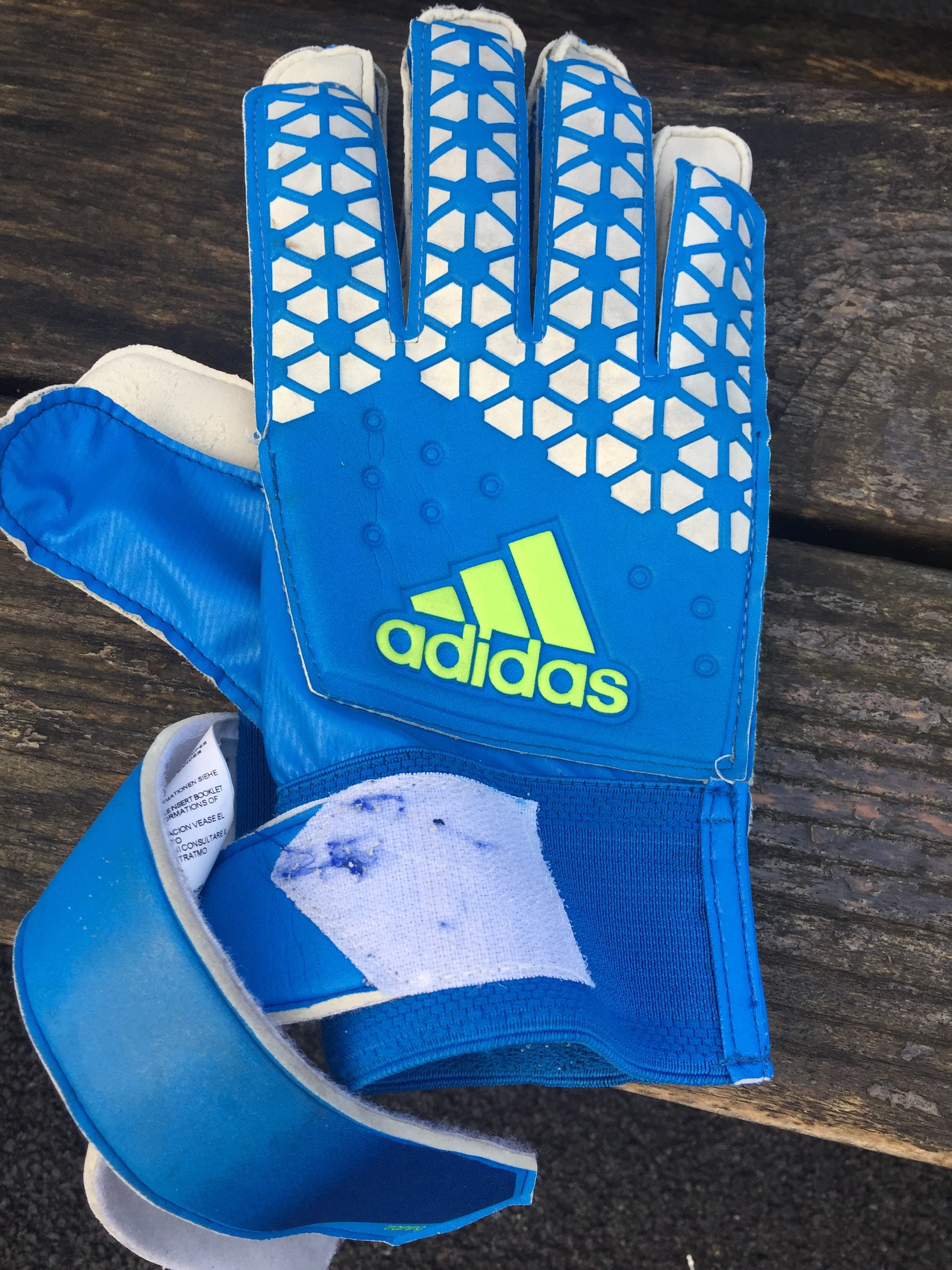 Award-winning goal keeping gioves, coming to an ebay near you!