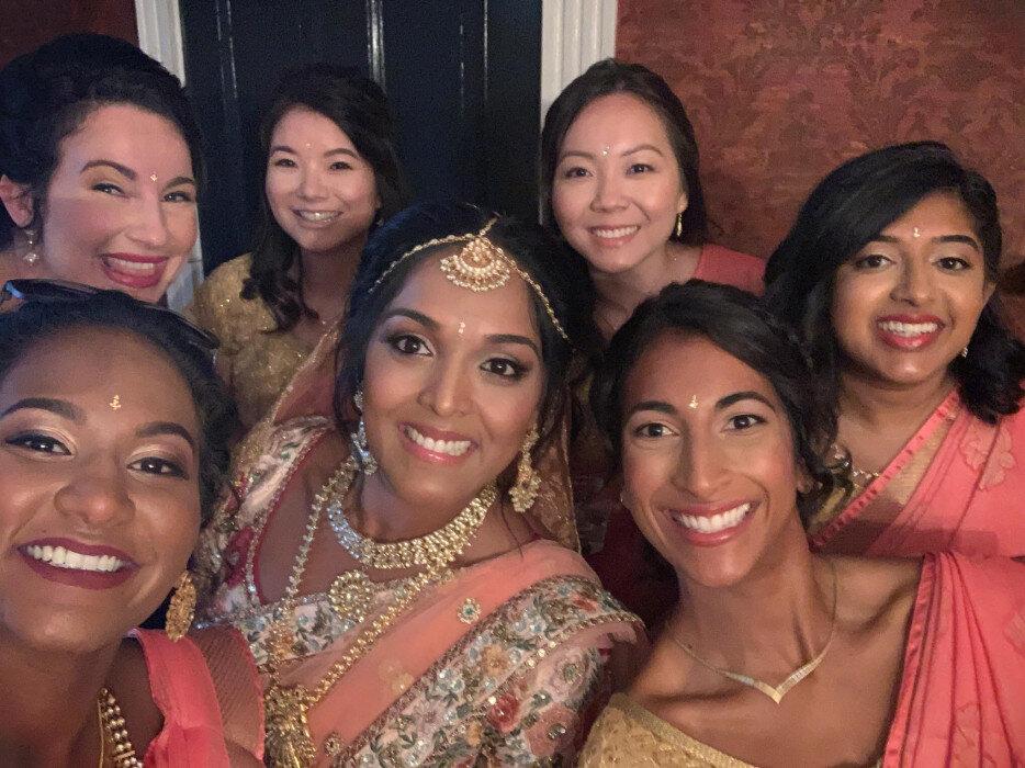 IndianweddingRaleighNCreviewshairandmakeup